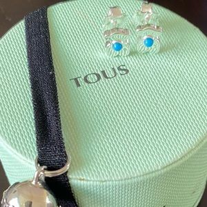 Tous Super Power with ceramic earrings